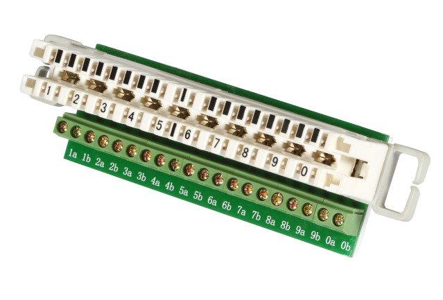 Adapter Trennleiste 10DA / LSA (46085.1)