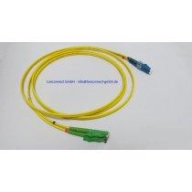 E2000/APC-LC/PC Patchkabel, duplex, Singlemode