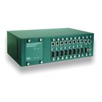 19 Gehäuse zur Aufnahme der Medienkonverter Single PSU (10 Slot) (0-1591032-2)