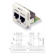 AMP CO Plus Doppeleinsatz (0-0183641-1)
