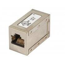 Modular-Adapter Cat.6 STP, RJ45 Buchse/Buchse,1:1 (37489.1)