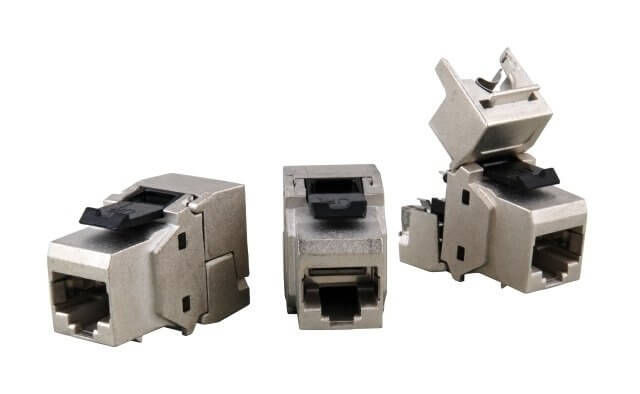 Für AWG22/1..AWG24/1 Kein LSA-Werkzeug erforderlich Einbau in Modular-Verteilerfeldern bis 24-Port/