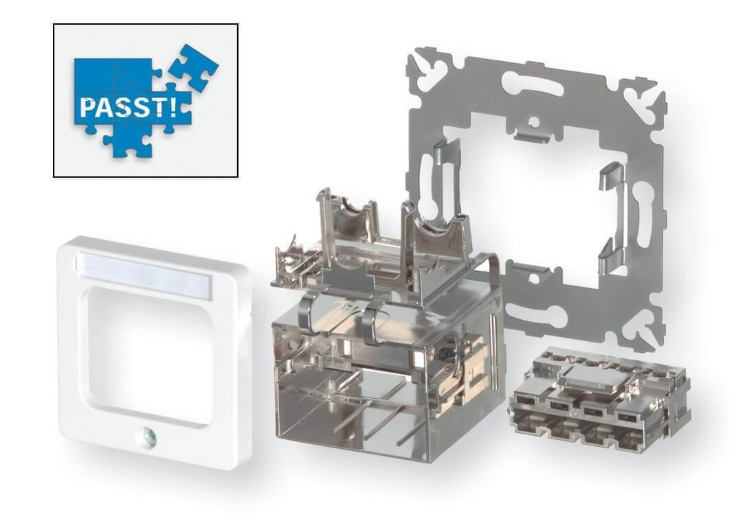 AMP CO Ultra DIN Installations-Kit (2-1711655-1)